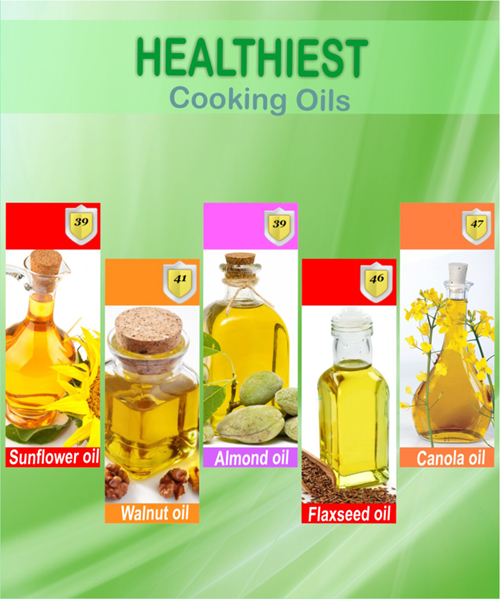 Top 10 Healthy Cooking Oils